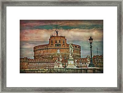 Castel Sant Angelo Framed Print by Hanny Heim