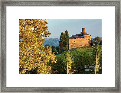 Castello Della Volta - Barolo II Framed Print by Brian Jannsen