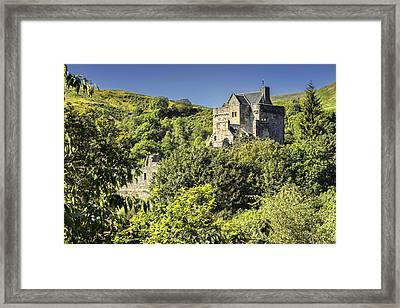 Castle Campbell Framed Print by Jeremy Lavender Photography