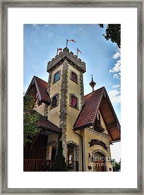 Castle Frankenmuth Framed Print by Chris Fleming