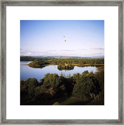 Castleisland Lough Key Forest Park Framed Print by The Irish Image Collection
