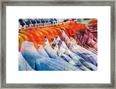 Casual Shirts Framed Print by Tom Gowanlock