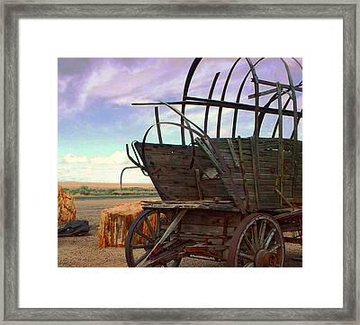 Casualty V Framed Print by Julie Dant