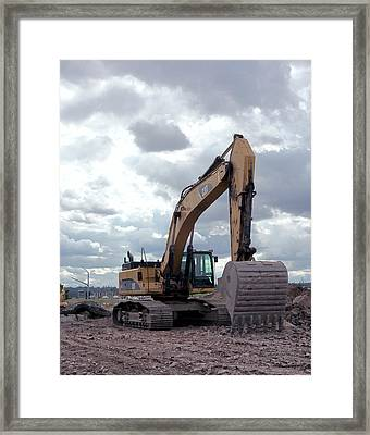 Cat 345 C Framed Print by Daniel Hagerman