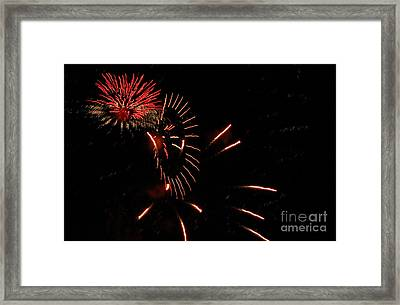 Cat Burst Framed Print by Norman  Andrus