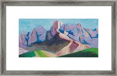 Catalina Blue Framed Print by Mordecai Colodner