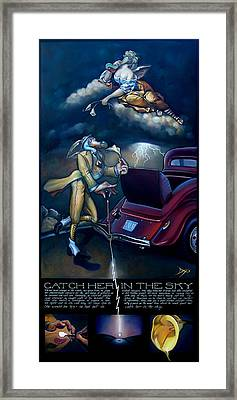 Catch Her In The Sky Framed Print by Patrick Anthony Pierson