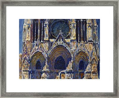 Cathedral 1 Framed Print by Valeriy Mavlo