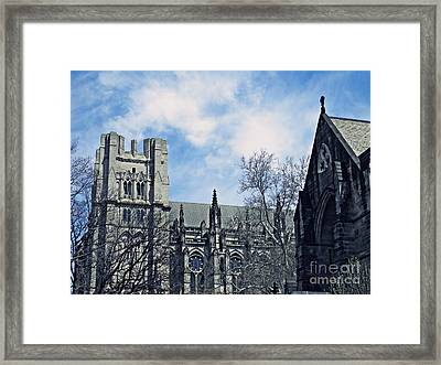 Cathedral 2 Framed Print by Sarah Loft
