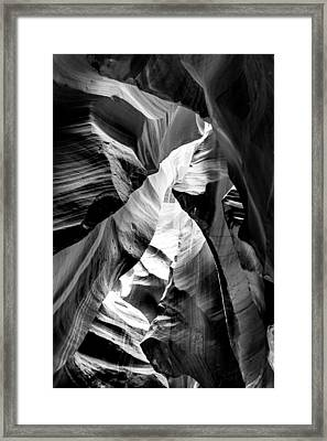 Cathedral Cave Framed Print by Az Jackson