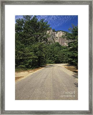 Cathedral Ledge State Park - Conway New Hampshire Usa Framed Print by Erin Paul Donovan