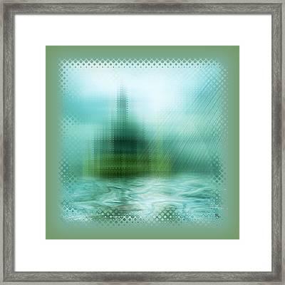 Cathedral Framed Print by Li   van Saathoff