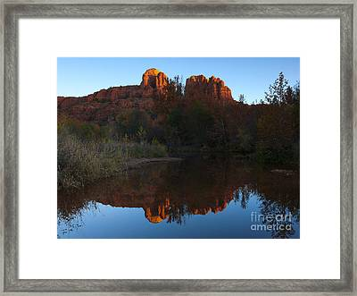 Cathedral Light Framed Print by Mike Dawson