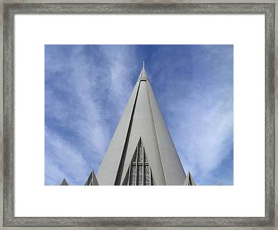 Cathedral Minor Basilica Our Lady Of Glory Framed Print by Bruna Lima