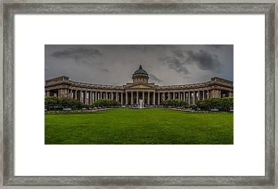 Cathedral Of Our Lady Of Kazan Framed Print by Capt Gerry Hare