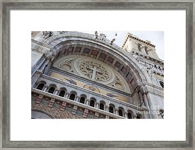 Cathedral Of St Vincent De Paul I Framed Print by Irene Abdou