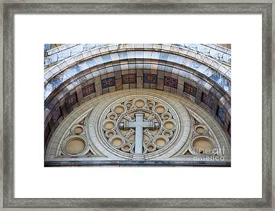 Cathedral Of St Vincent De Paul II Framed Print by Irene Abdou