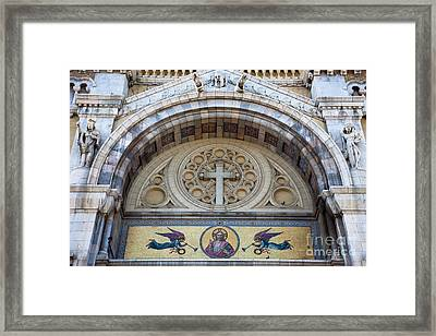 Cathedral Of St Vincent De Paul IIi Framed Print by Irene Abdou