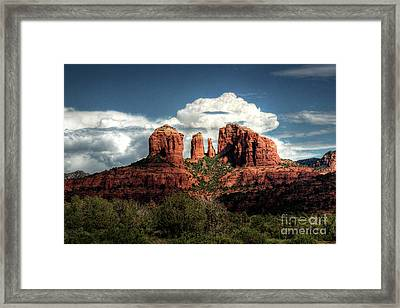Cathedral Rock - Sedona  Framed Print by Saija  Lehtonen
