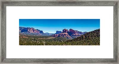 Cathedral Rock #3 Framed Print by Jon Manjeot
