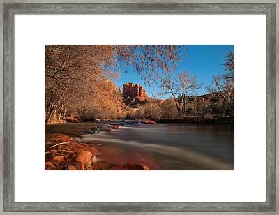 Cathedral Rock Sedona Arizona Framed Print by Larry Marshall