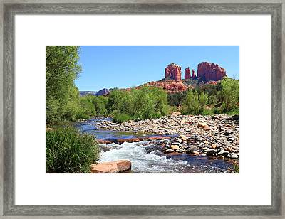 Cathedral Rock - Sedona Framed Print by John Absher