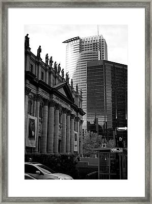 Cathedrale Marie-reine-du-monde Framed Print by Lisa Knechtel