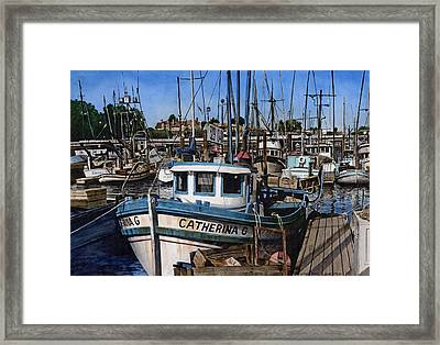 Catherina G Framed Print by James Robertson