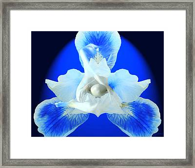 Cathy Framed Print by Torie Tiffany