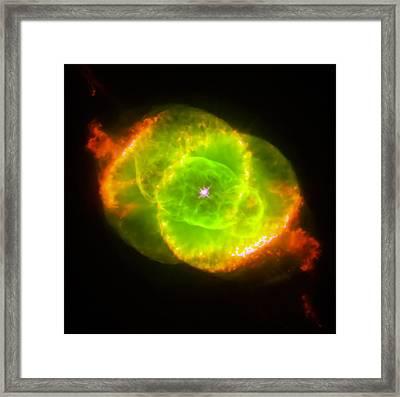 Cat's Eye Nebula Framed Print by The  Vault - Jennifer Rondinelli Reilly