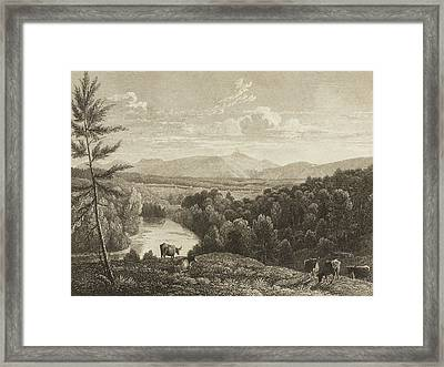 Catskill Mountains Framed Print by Asher Brown Durand