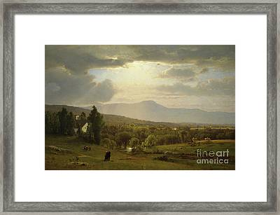 Catskill Mountains Framed Print by George Inness