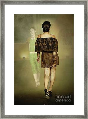Catwalk Framed Print by Charuhas Images