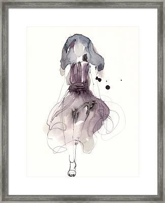 Catwalk Framed Print by Toril Baekmark