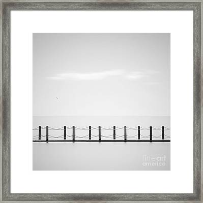 Causeway Framed Print by Richard Thomas
