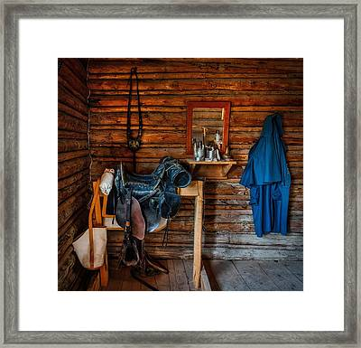 Cavalry Gear Framed Print by Mountain Dreams