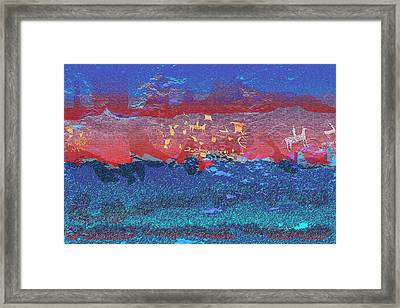Cave Of The Old Ones Framed Print by Phil Powers