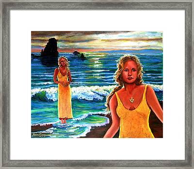 Cd Cover  The Painter Framed Print by Sandra Longmore