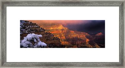 Canyon Dawn Framed Print by Mikes Nature