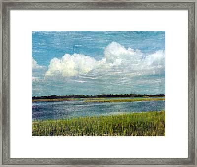 Cedar Key 1 Framed Print by Bob Senesac
