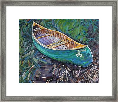 Cedar Strip Framed Print by Phil Chadwick