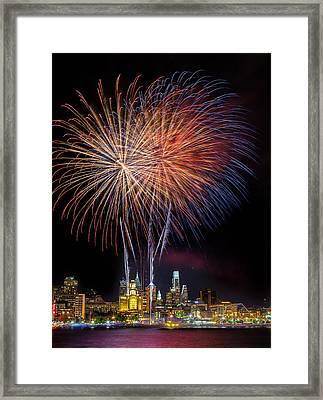 Celebrate Independence  Framed Print by Jason Gambone