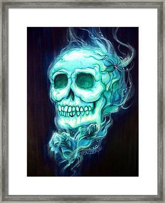 Celeste Framed Print by Heather Calderon
