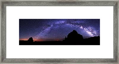 Celestial Arch Framed Print by Chad Dutson