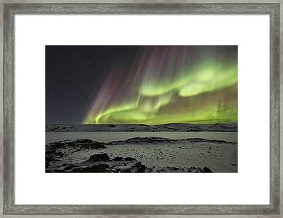 Celestial Framed Print by Bragi Ingibergsson -