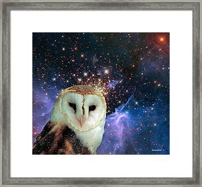 Celestial Nights Framed Print by Robert Orinski