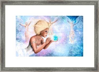 Celestial Providence - The Guardians Framed Print by Gallery  Beguiled