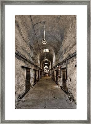 Cell Block  Framed Print by Evelina Kremsdorf