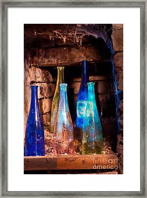 Cellar Surprise Framed Print by Donald Davis