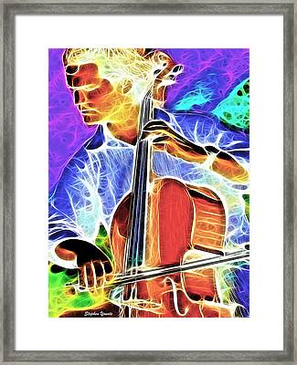 Cello Framed Print by Stephen Younts